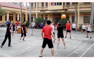 Bóng chuyền hơi - môn thể thao cho mọi người