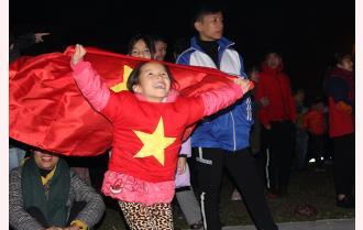 Người dân Yên Bái tự hào với U22 Việt Nam