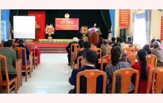 """Yên Bái: Hội nghị triển khai xây dựng mô hình """"Nâng cao giá trị, phát triển sản xuất cây lá khôi gắn với xây dựng chi, tổ, hội nghề nghiệp"""" năm 2020"""