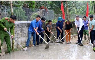 Phát triển giao thông nông thôn - điểm nhấn xây dựng nông thôn mới ở Yên Bình
