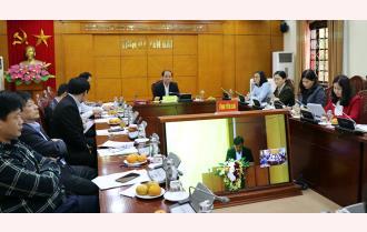 Yên Bái tham dự Hội nghị trực tuyến toàn quốc đánh giá kết quả 10 năm thực hiện Kết luận 61 của Ban Bí thư, Quyết định 673 của Thủ tướng Chính phủ