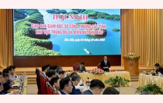 Tại Yên Bái: Giao ban Giám đốc Sở Công thương các tỉnh khu vực trung du và miền núi phía Bắc