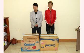 Công an huyện Yên Bình bắt giữ trên nửa tạ pháo nổ