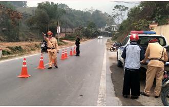 Yên Bái: Phát hiện và xử lý 5.267 trường hợp vi phạm Luật Giao thông đường bộ trong tháng ra quân cao điểm