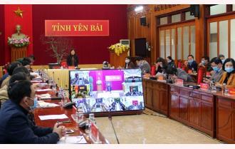 UBND tỉnh Yên Bái triển khai triển khai công tác phòng, chống dịch bệnh COVID-19