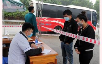 Yên Bái: Thực hiện nghiêm các chốt kiểm dịch y tế