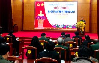 Hội nghị báo cáo viên Tỉnh ủy tháng 1/2021: Tuyên truyền không đứng ngoài mạng xã hội
