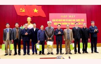Yên Bái: Gặp mặt cán bộ nghỉ hưu và nghỉ hưu trước tuổi diện Ban Thường vụ Tỉnh ủy quản lý