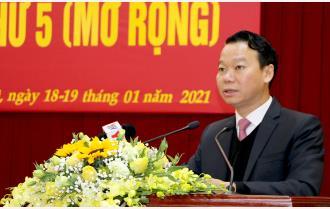 Toàn văn phát biểu khai mạc Hội nghị Ban Chấp hành Đảng bộ tỉnh Yên Bái lần thứ 5 (mở rộng) của Bí thư Tỉnh ủy Đỗ Đức Duy