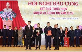 Yên Bái: 57 tập thể được khen thưởng tại Hội nghị báo công kết quả thực hiện nhiệm vụ chính trị năm 2020