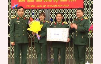 Bộ CHQS tỉnh Yên Bái: Bàn giao