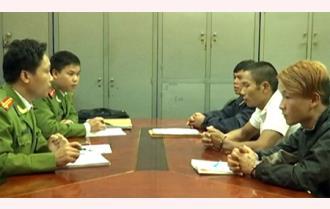 Công an tỉnh Yên Bái: Bắt giữ 3 đối tượng truy nã