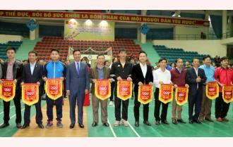 Yên Bái khai mạc Hội thi thể thao