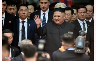Đoàn tàu chở Chủ tịch Triều Tiên Kim Jong-un đã đến Việt Nam