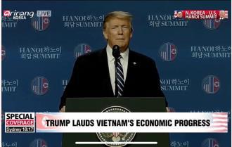 Nội dung phát biểu của Tổng thống Trump tại họp báo