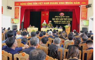 Phiên trù bị Đại hội Đảng bộ xã Việt Thành, huyện Trấn Yên