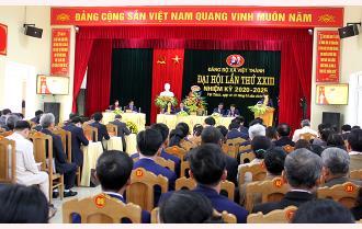 Khai mạc Đại hội Đảng bộ xã Việt Thành lần thứ XXIII, nhiệm kỳ 2020 – 2025