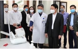 Yên Bái sẵn sàng ứng phó với dịch bệnh COVID-19 dịp Tết Nguyên đán