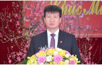 Lời chúc mừng năm mới của đồng chí Trần Huy Tuấn - Phó Bí thư Tỉnh ủy, Chủ tịch UBND tỉnh Yên Bái