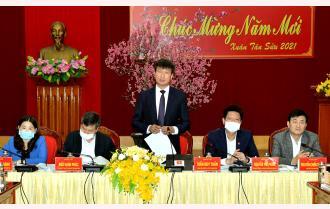 UBND tỉnh Yên Bái triển khai nhiệm vụ tháng 3/2021: Chỉ số sản xuất công nghiệp tăng 13,6% trong 2 tháng đầu năm