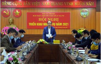 Yên Bái: Ban Chỉ đạo thực hiện Kết luận số 61-KL/TW tỉnh triển khai nhiệm vụ năm 2021