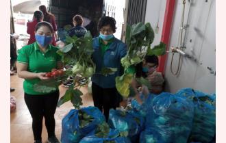Yên Bái giải cứu nông sản giúp nông dân Hải Dương