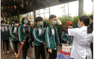 Các trường học Yên Bái kích hoạt trở lại các biện pháp phòng, chống dịch COVID-19