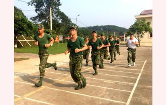 """Lực lượng vũ trang """"Tăng tốc"""" vào giải"""
