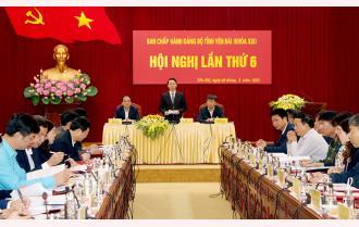 Yên Bái: Điều chỉnh phương án giới thiệu nhân sự để bầu giữ chức danh Trưởng đoàn Đại biểu Quốc hội khóa XV tỉnh và Chủ tịch HĐND tỉnh nhiệm kỳ 2021-2026