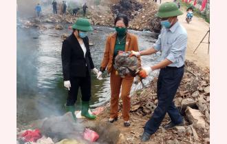 Văn Yên phát động phong trào phụ nữ chung tay vệ sinh môi trường xanh - sạch - đẹp