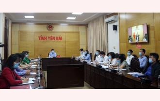 Yên Bái dự  họp trực tuyến toàn quốc triển khai công tác phòng, chống dịch Covid-19