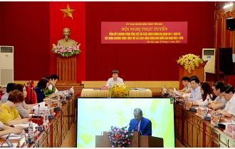 Yên Bái dự Hội nghị trực tuyến toàn quốc tổng kết Chương trình tổng thể cải cách hành chính nhà nước giai đoạn 2011 - 2020