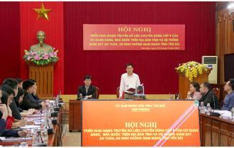 Văn phòng UBND tỉnh triển khai mạng truyền số liệu chuyên dùng cấp II của cơ quan Đảng, Nhà nước
