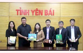 UBND tỉnh Yên Bái tiếp và làm việc với Hiệp hội Ẩm thực Nhật Bản - Việt Nam
