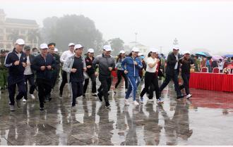 """Yên Bái phát động Cuộc vận động """"Toàn dân rèn luyện thân thể theo gương Bác Hồ vĩ đại"""" và Ngày chạy Olympic vì sức khỏe toàn dân năm 2021"""