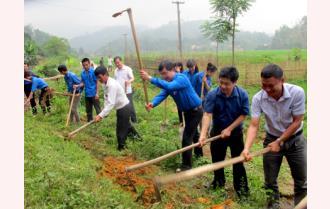 Tỉnh đoàn Yên Bái: Khởi công Dự án xây dựng cầu nông thôn năm 2015