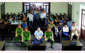 Tòa án nhân dân thành phố Yên Bái xét xử sơ thẩm vụ án Lê Duy Phong