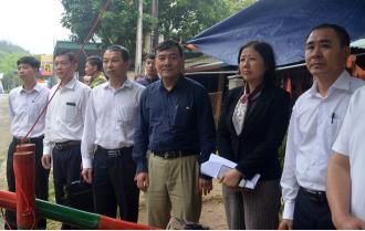 Cục Thú y Trung ương kiểm tra công tác phòng chống dịch tả lợn châu Phi tại Yên Bái