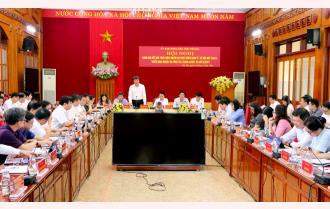 UBND tỉnh Yên Bái triển khai nhiệm vụ công tác quý II: Bức tranh kinh tế - xã hội quý I nhiều gam màu sáng