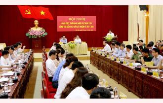 Yên Bái: Quán triệt, triển khai nhiệm vụ trọng tâm công tác kiểm tra, giám sát nhiệm kỳ 2020 – 2025