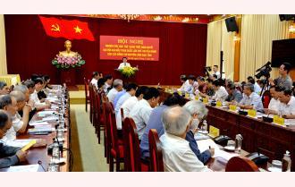 Tỉnh ủy  Yên Bái: Tổ chức quán triệt Nghị quyết Đại hội XIII của Đảng cho các đồng chí nguyên lãnh đạo tỉnh