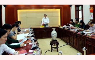 Yên Bái: Các cơ quan khối Dân vận tỉnh triển khai nhiệm vụ quý II năm 2021