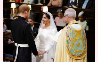 Lễ cưới nhiều cảm xúc của Hoàng tử Harry và Meghan