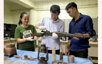 Chiến thắng sông Thao, Chiến thắng Điện Biên Phủ - những hiện vật còn lưu giữ
