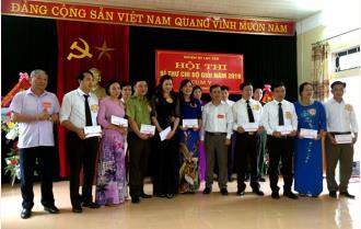Hội thi Bí thư chi bộ giỏi ở Đảng bộ Lục Yên: Đợt