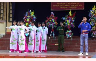 Kể chuyện để học Bác: Sáng tạo của Trường THPT Hồng Quang