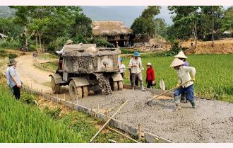 Lục Yên nỗ lực xây dựng nông thôn mới