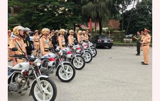 Hôm nay, Yên Bái ra quân tổng kiểm soát phương tiện giao thông cơ giới đường bộ