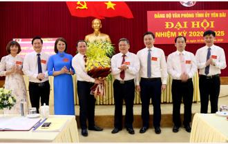 Đại hội Đảng bộ Văn phòng Tỉnh ủy Yên Bái nhiệm kỳ 2020 - 2025