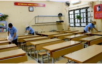 Các trường học Yên Bái: Sẵn sàng đón học sinh ngày trở lại